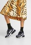 Nike Sportswear - AIR MAX 270 REACT - Sneaker low - black/vast grey/off noir