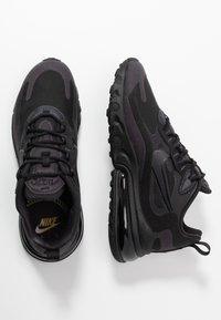 Nike Sportswear - AIR MAX 270 REACT - Sneakers - black/grey/white - 3
