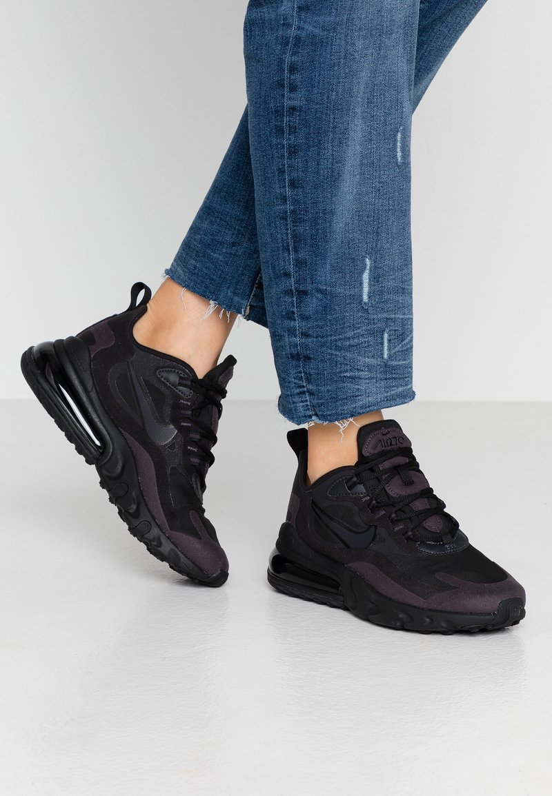 Nike Sportswear - AIR MAX 270 REACT - Sneakers - black/grey/white