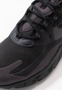Nike Sportswear - AIR MAX 270 REACT - Sneakers - black/grey/white - 2