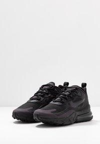 Nike Sportswear - AIR MAX 270 REACT - Sneakers - black/grey/white - 4