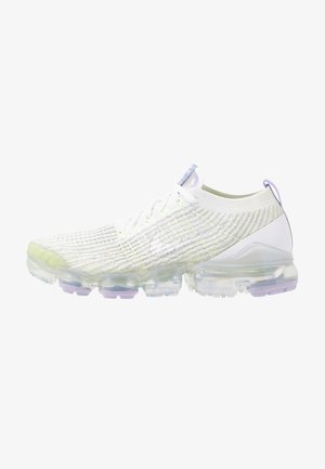 AIR VAPORMAX FLYKNIT - Sneakers basse - true white/barely volt/purple agate/metallic silver