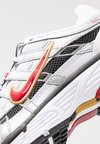 Nike Sportswear - P-6000 - Sneakers - white/varsity red/metallic platinum
