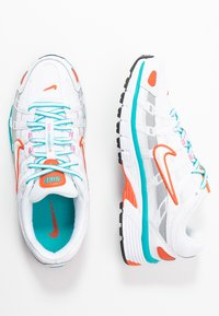 Nike Sportswear - P-6000 - Trainers - white/oracle aqua - 5