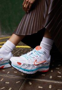 Nike Sportswear - P-6000 - Trainers - white/oracle aqua - 4