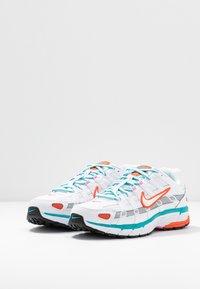 Nike Sportswear - P-6000 - Baskets basses - white/oracle aqua - 6