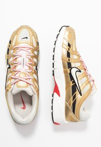 Nike Sportswear - P-6000 - Trainers - light bone/summit white/metallic gold/university red/black - 5