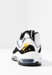 Nike Sportswear - AIR MAX 98 PRM - Trainers - white/university gold/black/game royal - 5