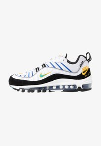 Nike Sportswear - AIR MAX 98 PRM - Tenisky - white/university gold/black/game royal - 1