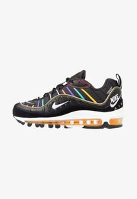 Nike Sportswear - AIR MAX 98 PRM - Trainers - black/flash crimson/kinetic green/psychic purple/universe gold/white - 1