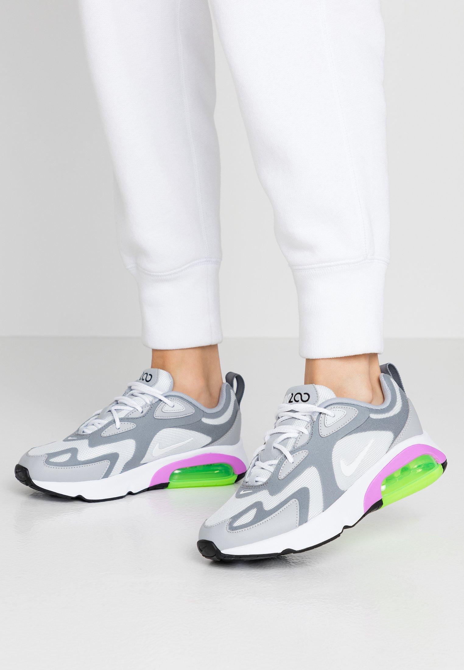 AIR MAX 200 Sneakers laag pure platinumwhitecool greywolf greyatomic purpleelectric green