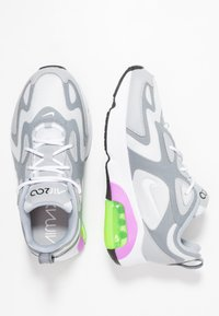 Nike Sportswear - AIR MAX 200 - Sneakers basse - pure platinum/white/cool grey/wolf grey/atomic purple/electric green - 3