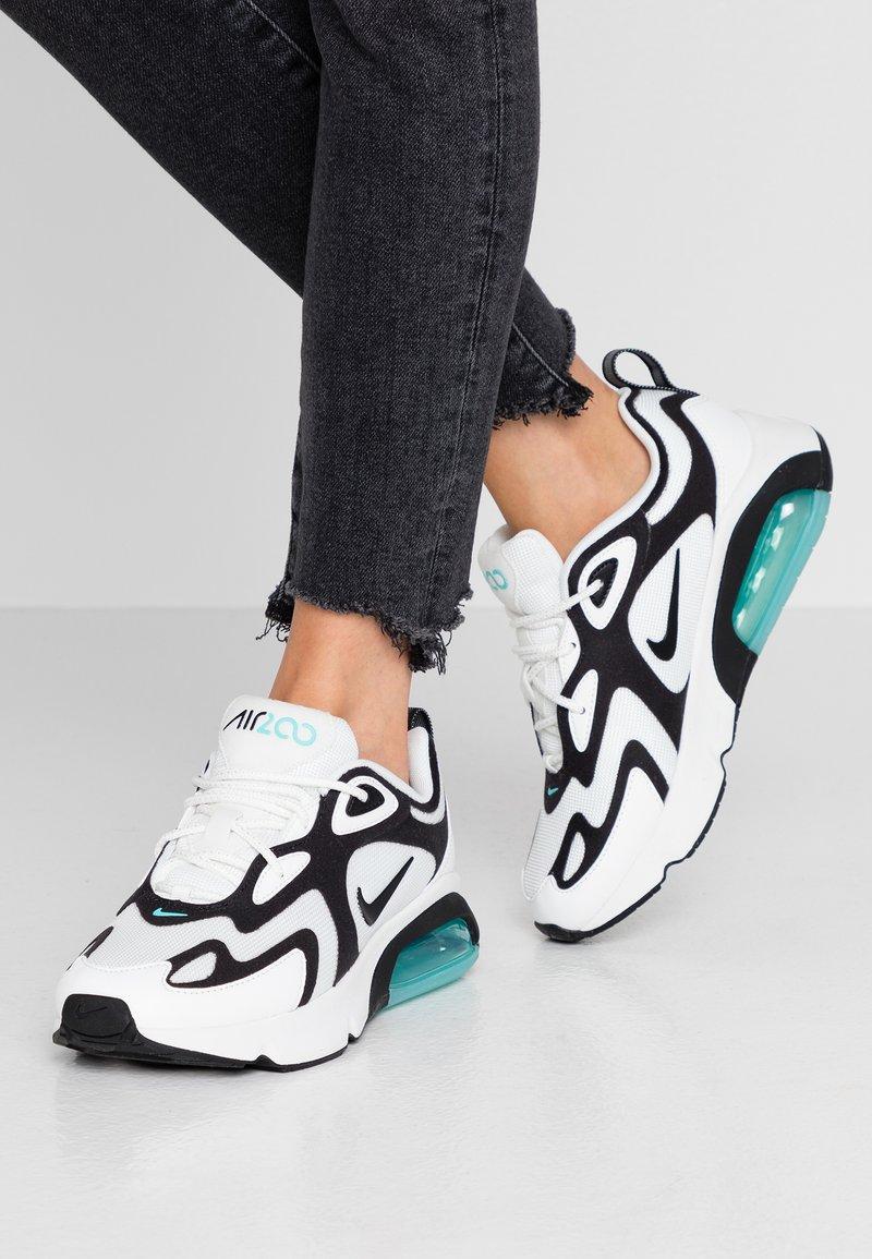 Nike Sportswear - AIR MAX 200 - Baskets basses - summit white/black/aurora green