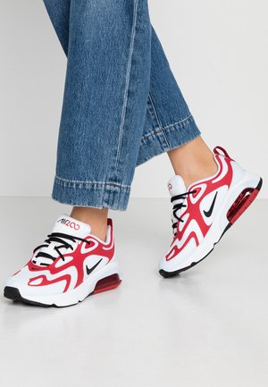 AIR MAX 200 - Sneakers - white/black/gym red/half blue