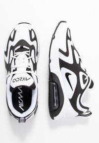 Nike Sportswear - AIR MAX 200 - Baskets basses - white/black/anthracite - 3