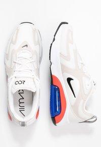 Nike Sportswear - AIR MAX 200 - Sneaker low - sail/black/desert sand/phantom/habanero red/game royal - 5