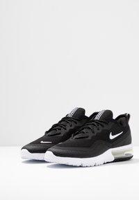 Nike Sportswear - AIR MAX SEQUENT 4.5 - Tenisky - black/white - 4