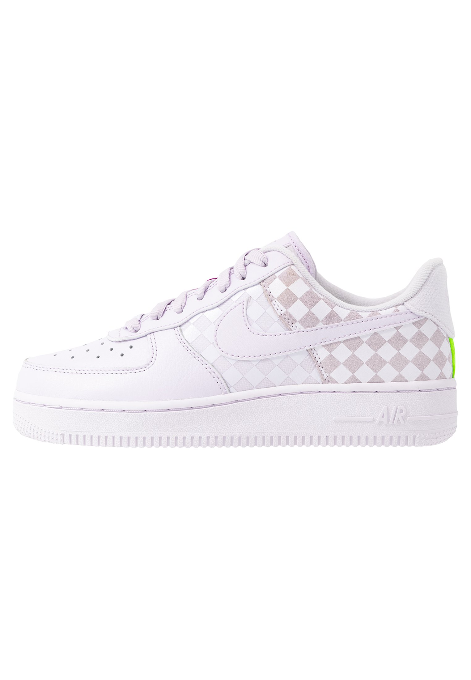 AIR FORCE 1 Sneakersy niskie barely grapehyper violetelectric green