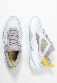 Nike Sportswear - M2K - Sneakers laag - half blue/atmosphere grey/chrome yellow/summit white - 3