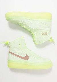 Nike Sportswear - AIR FORCE 1 - Sneaker high - barely volt/desert dust/barely volt - 3