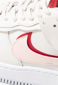 Nike Sportswear - AIR FORCE 1 SHADOW - Matalavartiset tennarit - phantom/echo pink/gym red - 2