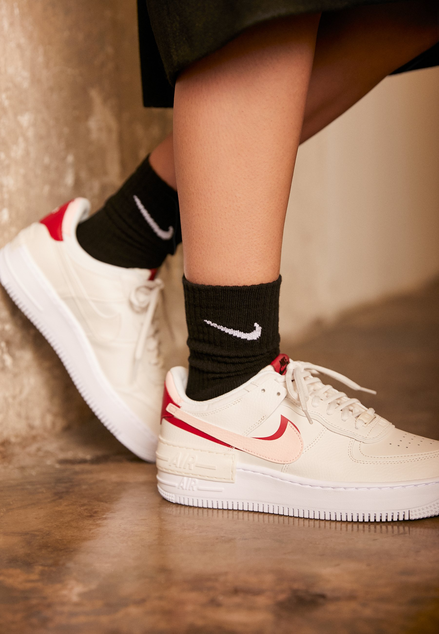 AIR FORCE 1 SHADOW Baskets basses phantomecho pinkgym red