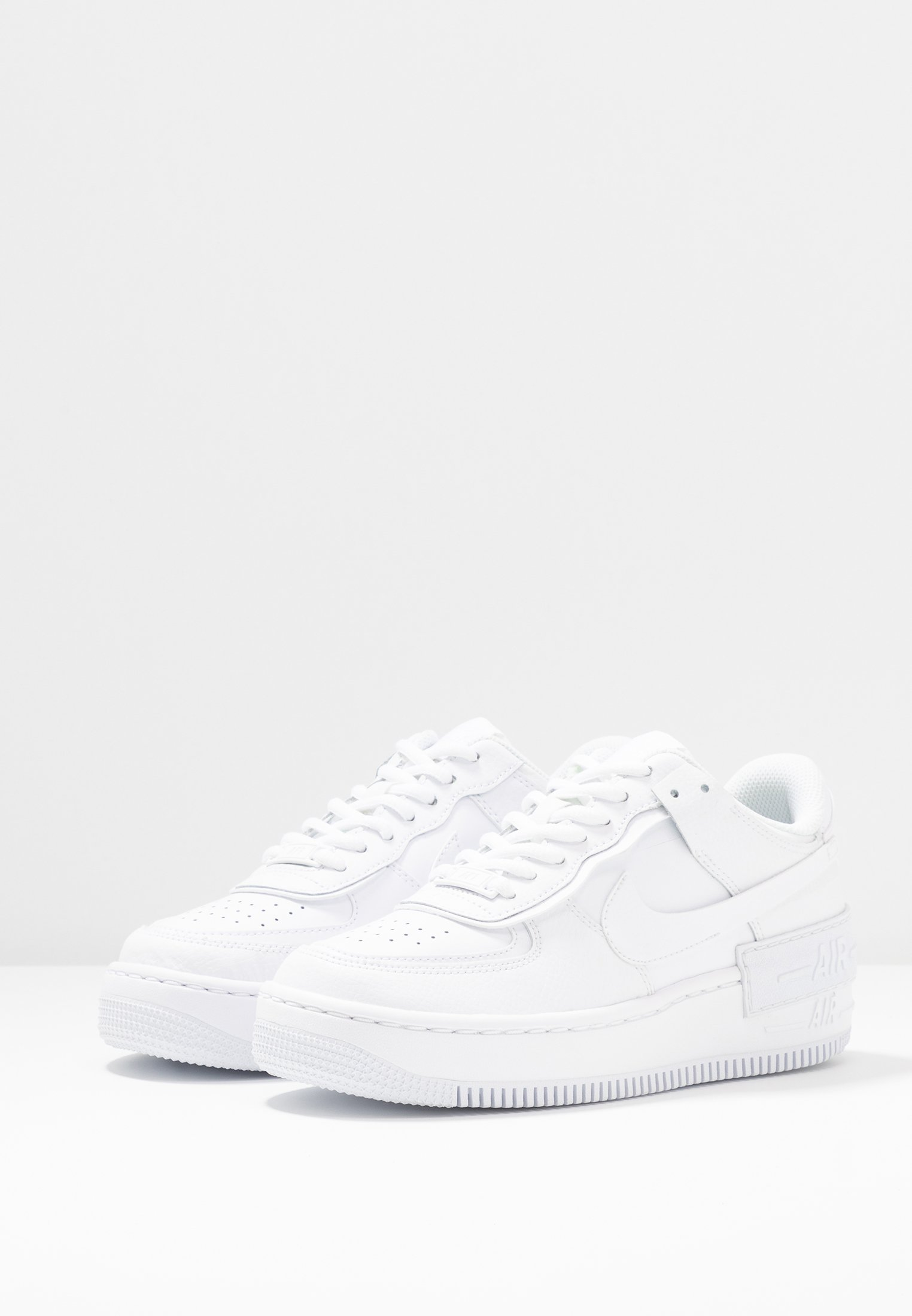 AIR FORCE 1 SHADOW - Sneaker low - white