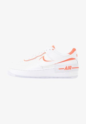 AIR FORCE 1 SHADOW - Baskets basses - white/summit white/total orange
