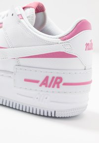 Nike Sportswear - AIR FORCE 1 SHADOW - Trainers - white/magic flamingo - 2