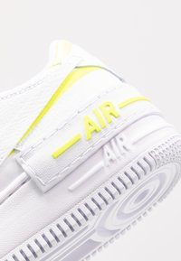 Nike Sportswear - AIR FORCE 1 SHADOW - Trainers - white/lemon