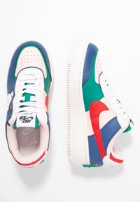 Nike Sportswear - AIR FORCE 1 SHADOW - Matalavartiset tennarit - mystic navy/white/echo pink - 5