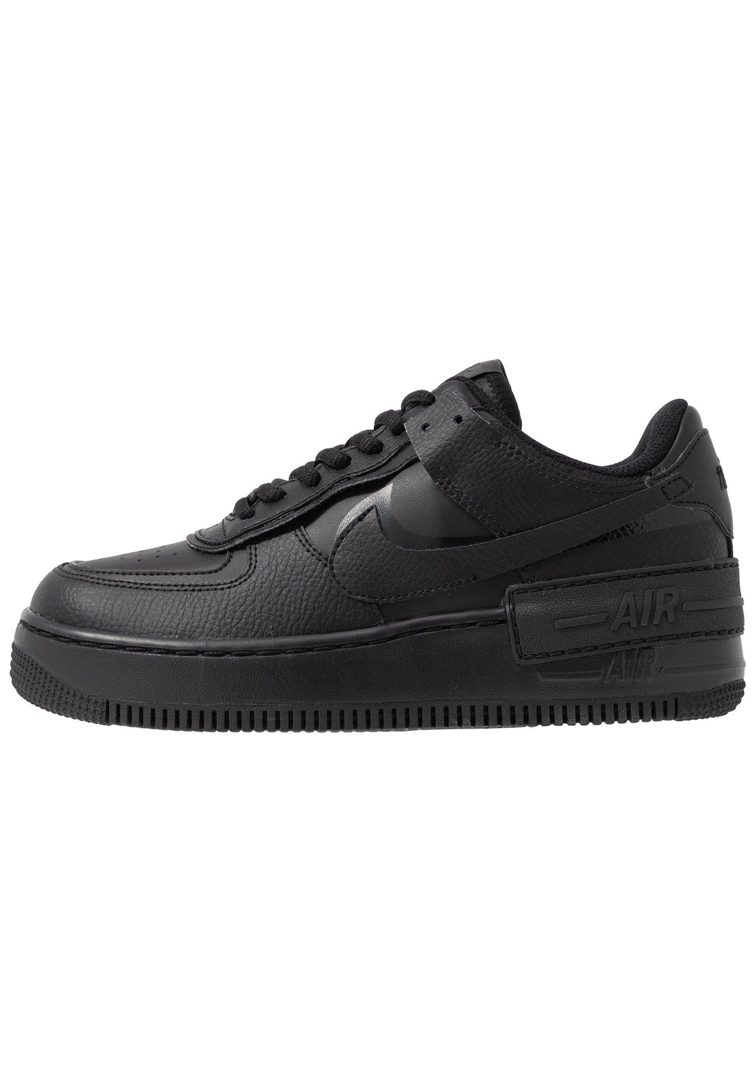 AIR FORCE 1 SHADOW - Sneaker low - black