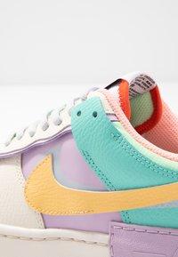 Nike Sportswear - AIR FORCE 1 SHADOW - Baskets basses - pale ivory/celestial gold/tropical twist - 2
