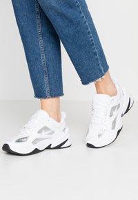 Nike Sportswear - TEKNO  - Sneakersy niskie - white/metallic silver/black - 0