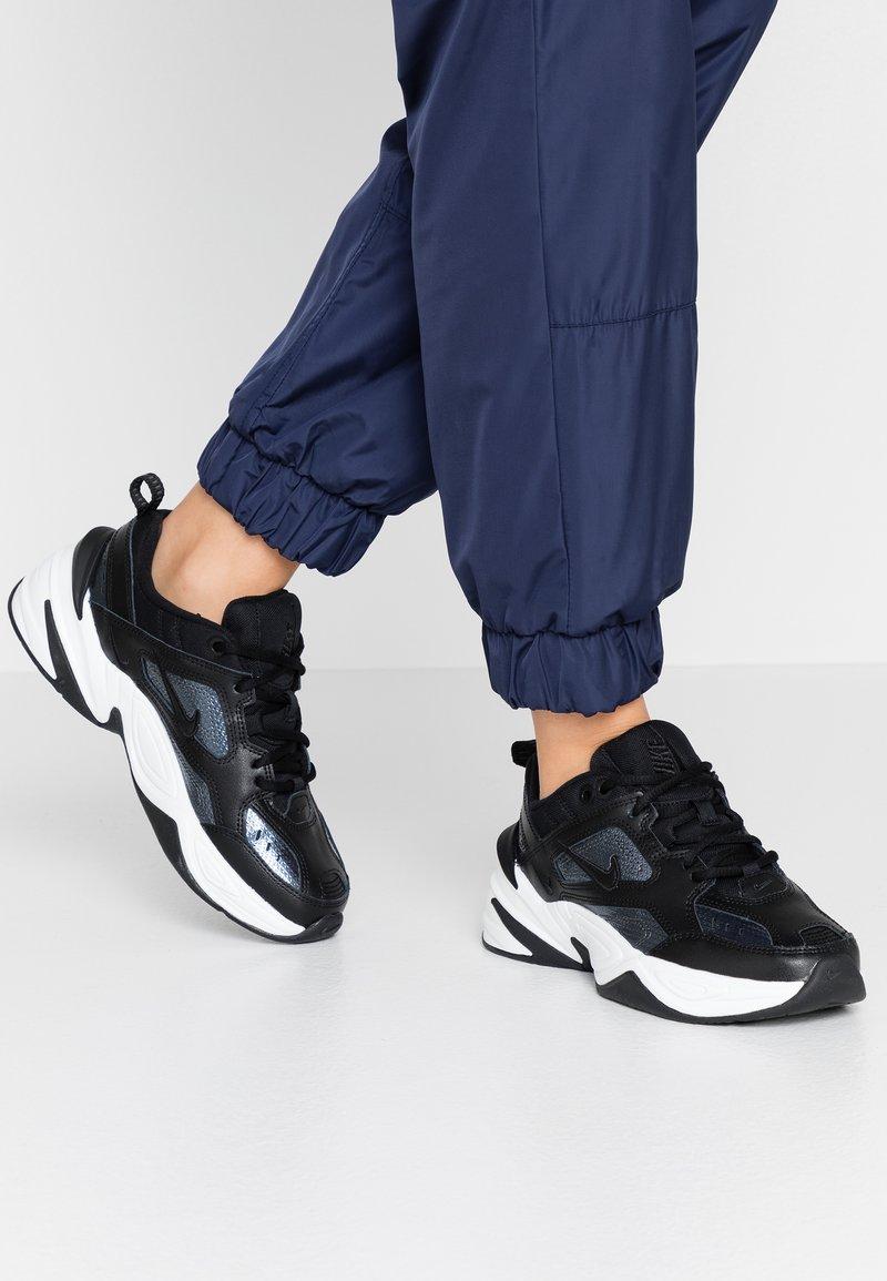 Nike Sportswear - TEKNO  - Trainers - black/metalic hematite/summit white