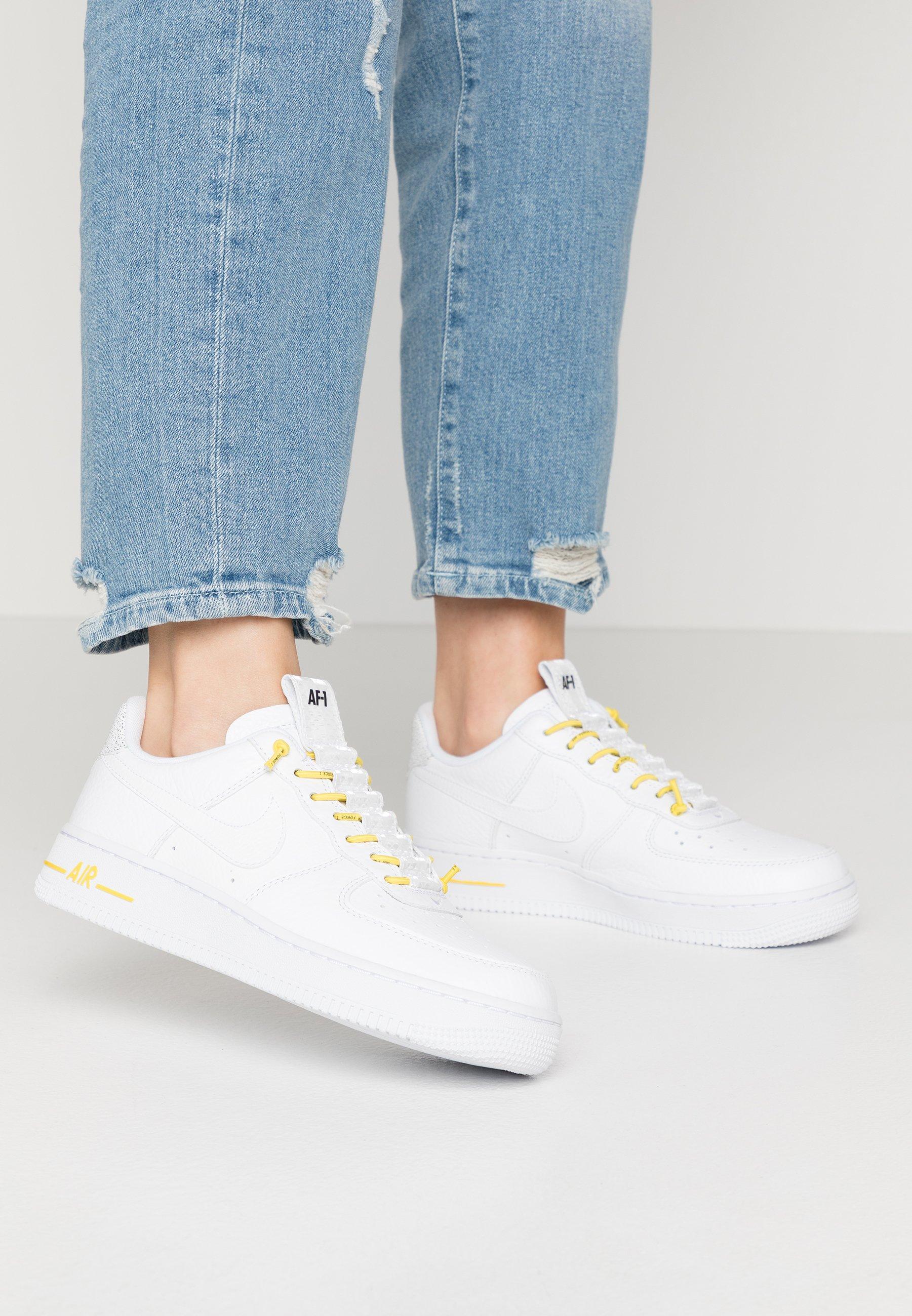 Nike Sportswear AIR FORCE 1 '07 - Baskets basses white/chrome yellow/black