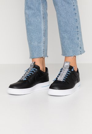 AIR FORCE 1 '07 LX - Zapatillas - black/light blue/white