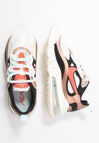 Nike Sportswear - AIR MAX 270 REACT - Sneakers laag - sail/black metallic/red bronze/pure platinum/teal tint/bright crimson - 5