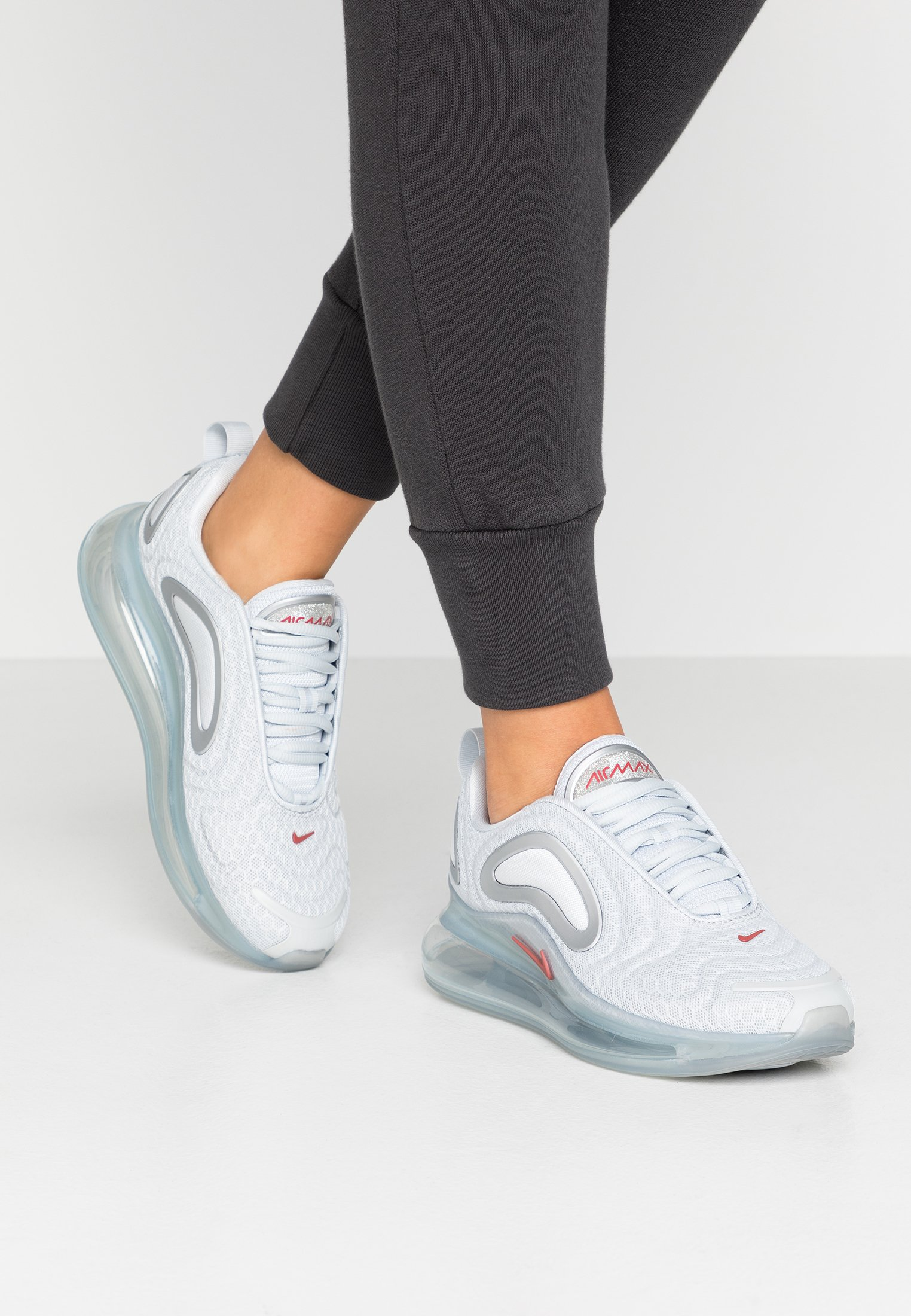 AIR MAX 720 Sneakers basse pure platinumlight redwoodmetallic silverwhite