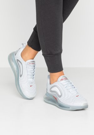 AIR MAX 720 - Baskets basses - pure platinum/light redwood/metallic silver/white