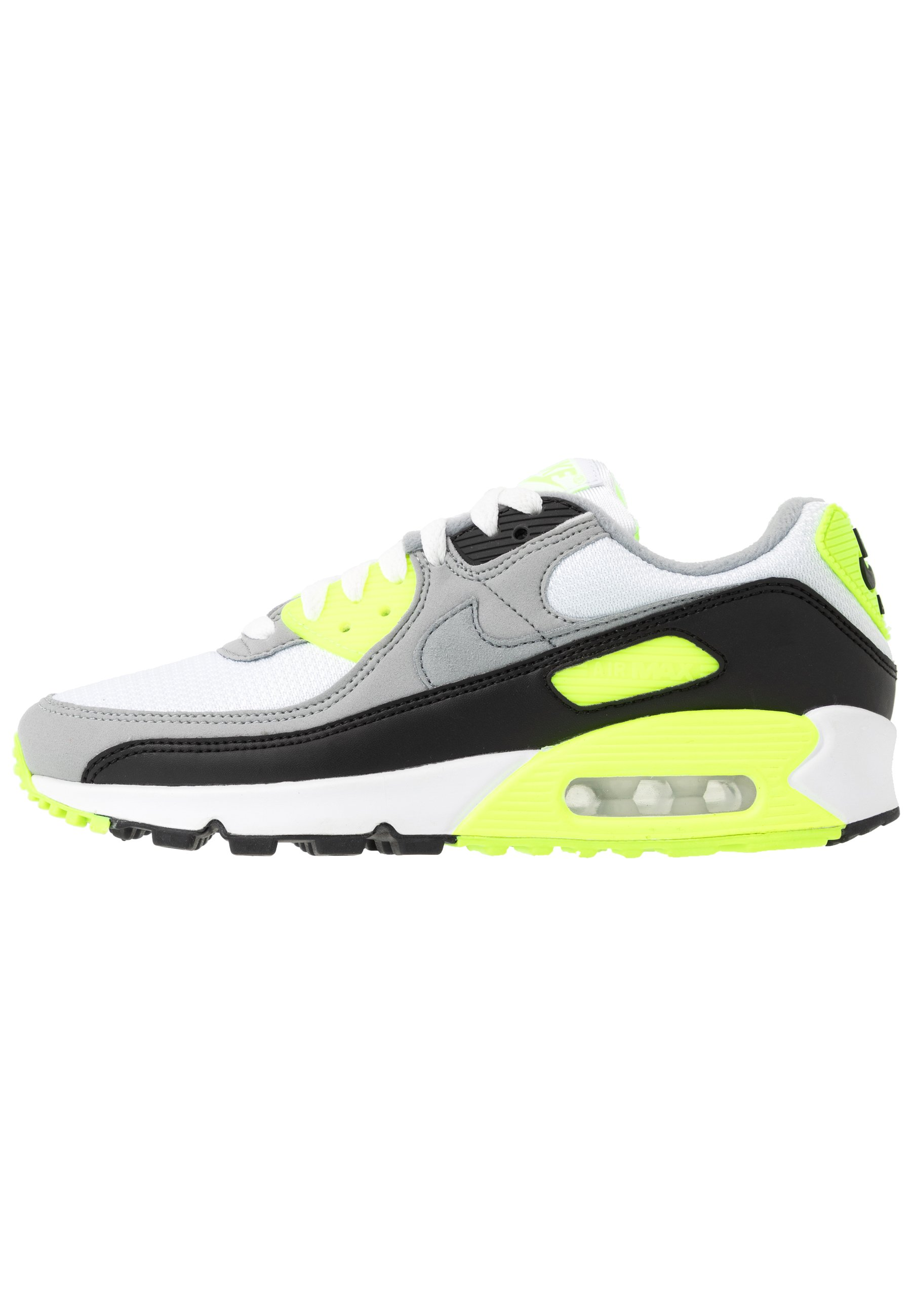 AIR MAX 90 Trainers whiteparticle greyvoltblacklight smoke grey