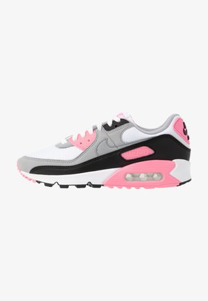 AIR MAX 90 - Sneakers basse - white/particle grey/rose/black/light smoke grey