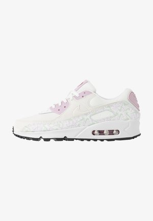 AIR MAX 90 - Sneakersy niskie - summit white/pistachio frost/iced lilac/noble red/black