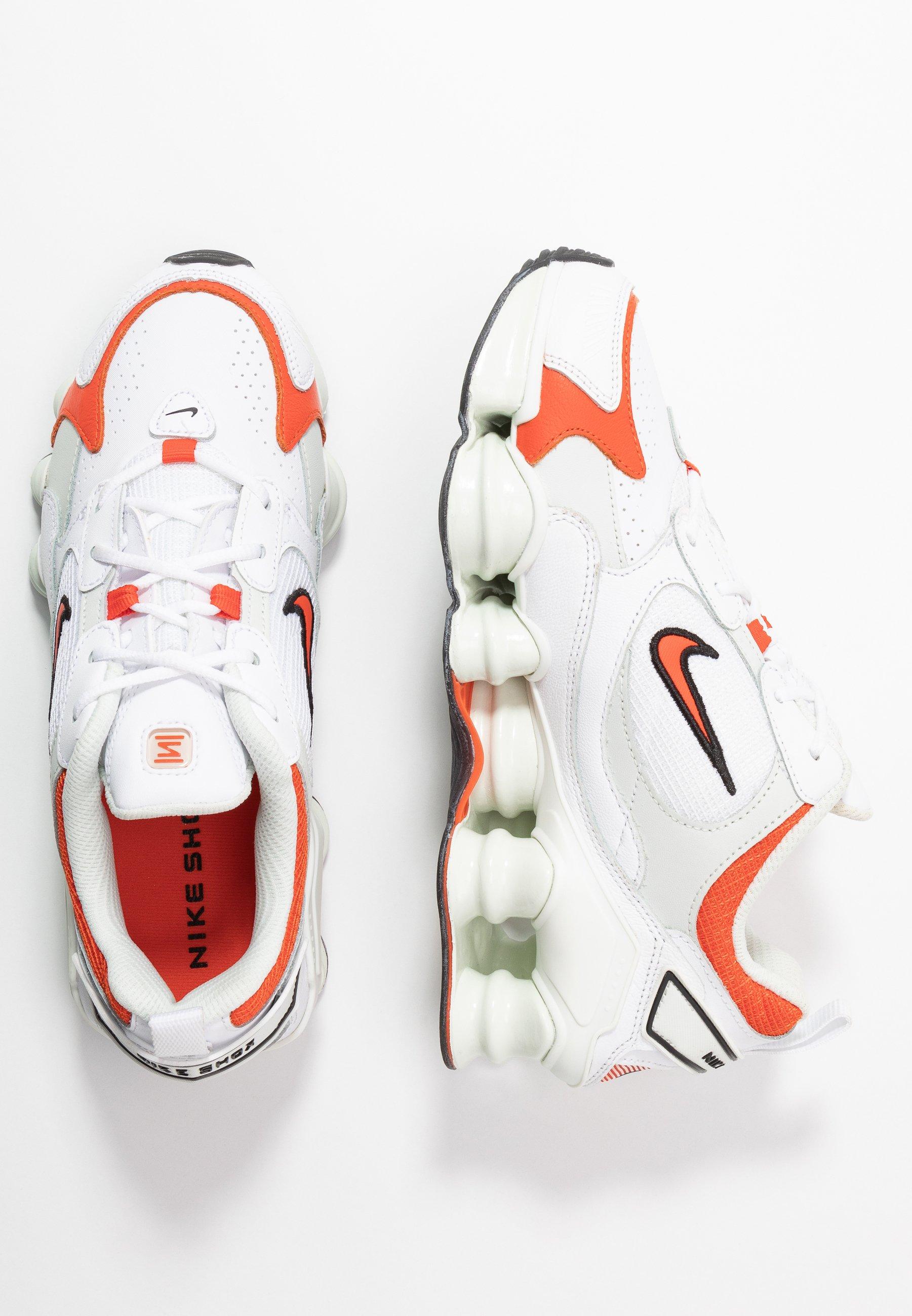 SHOX TL NOVA Baskets basses whiteteam orangespruce aurablack