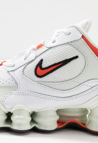Nike Sportswear - SHOX TL NOVA - Trainers - white/team orange/spruce aura/black