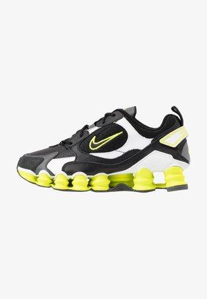 SHOX TL NOVA - Sneakers laag - black/lemon/iron grey/white