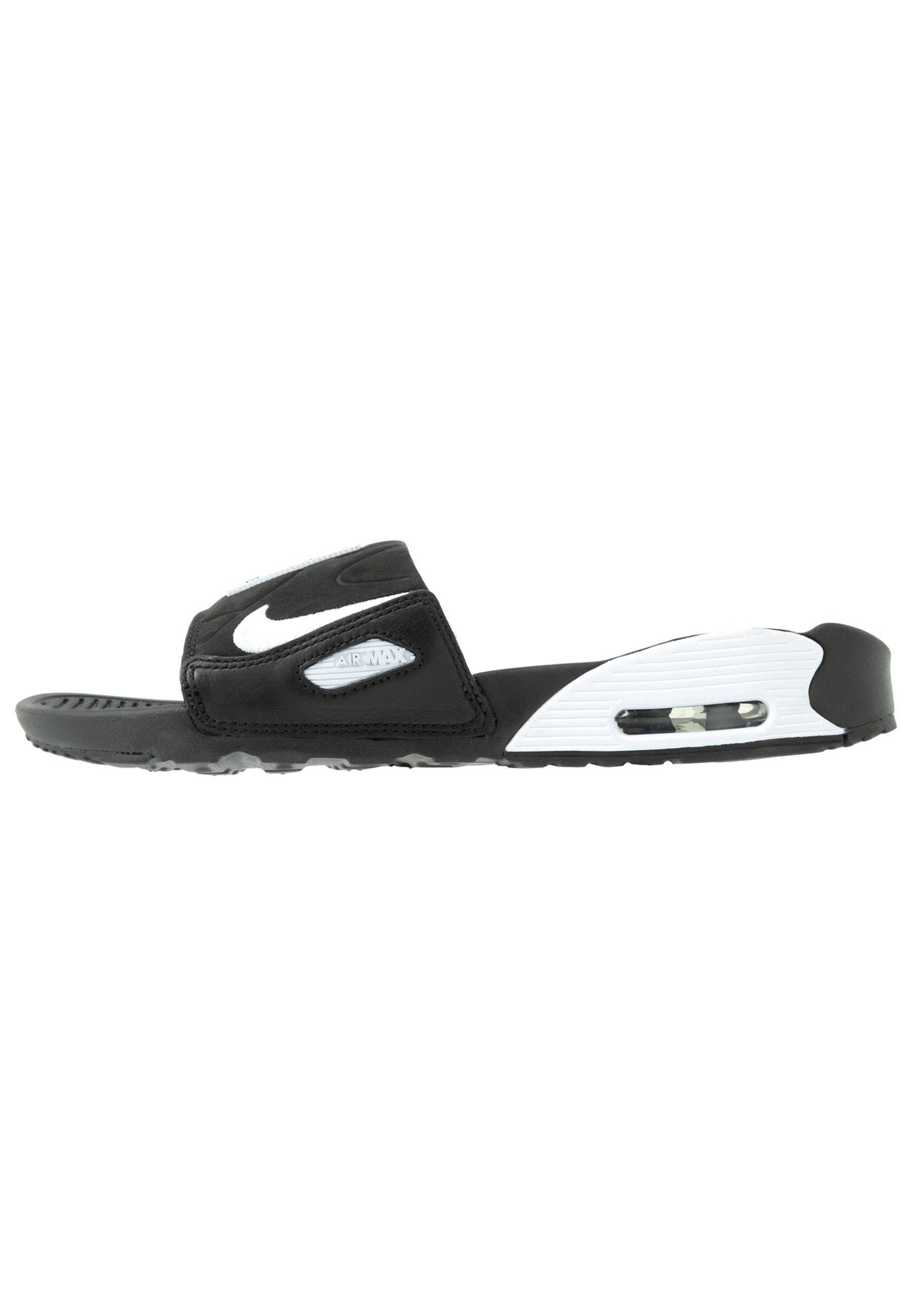 NIKE AIR MAX 90 DAMEN SLIDES Badesandale blackwhite