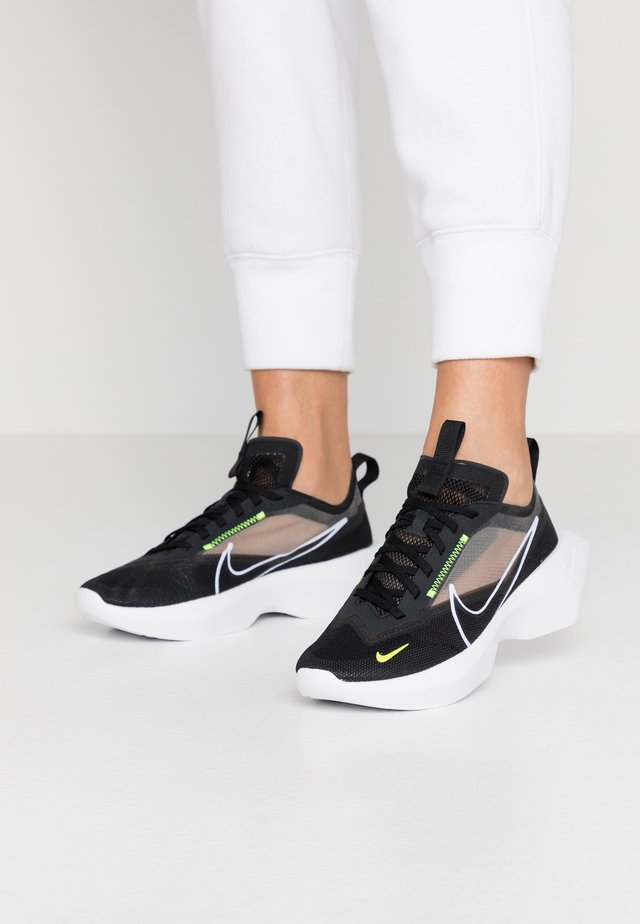VISTA LITE - Sneakers - black/white/lemon