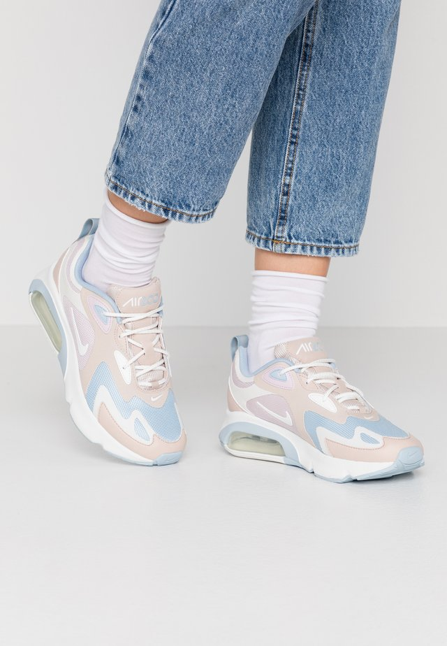 AIR MAX 200 - Sneakers laag - barely rose/summit white/fossil stone/light armory blue
