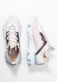 Nike Sportswear - Sneakersy niskie - barely rose/fossil stone/summit white/light armory blue